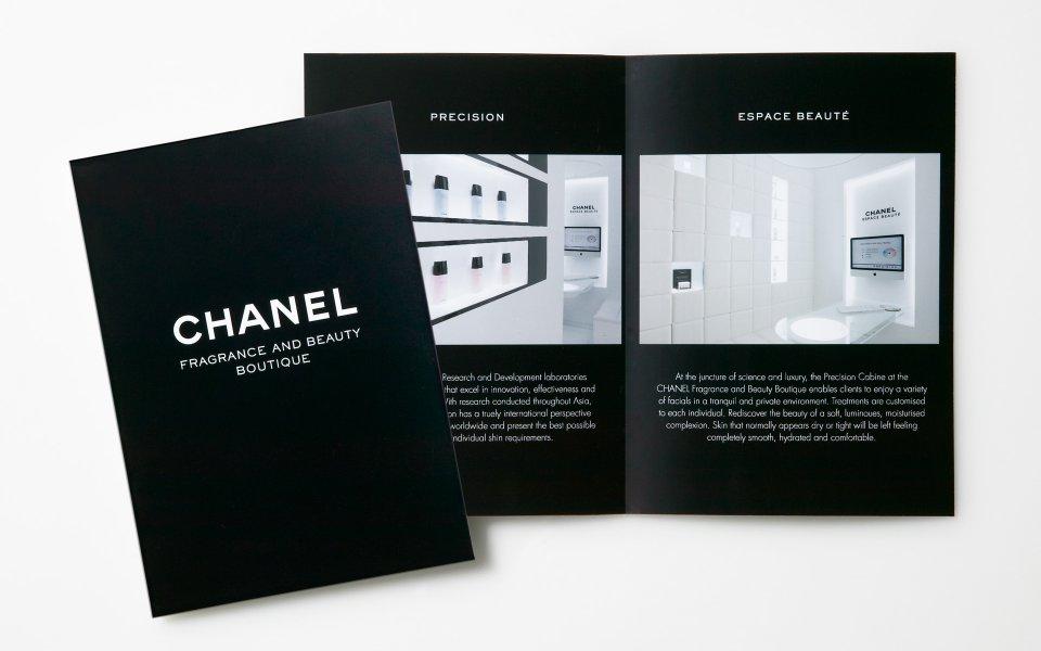 chanel  u2013 brand  u0026 marketing collateral design  u2014 layfield design