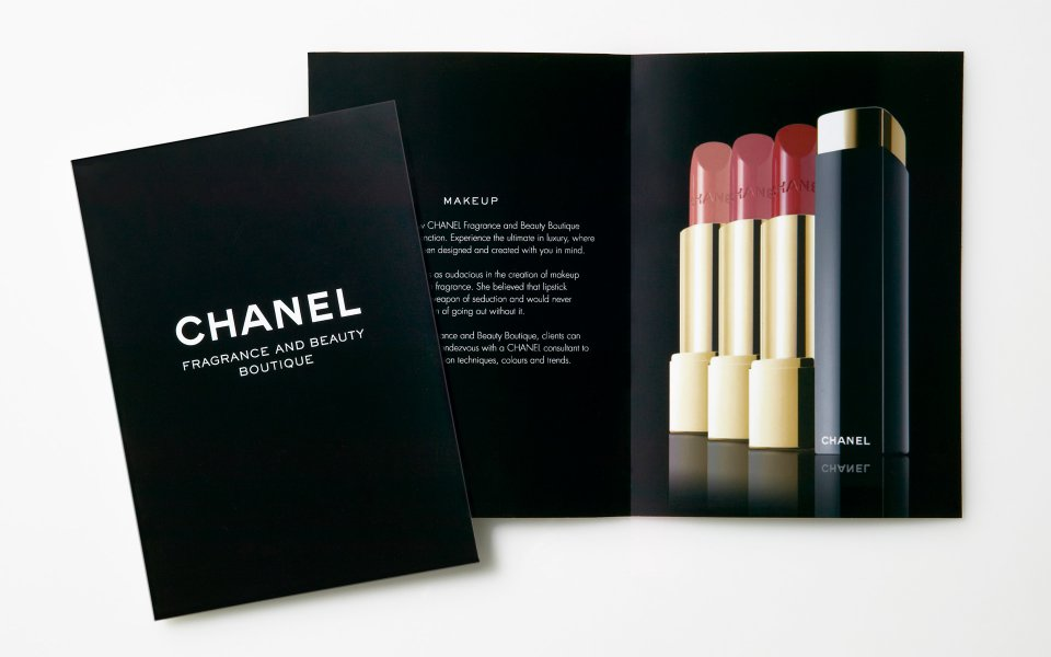 Chanel Brand Amp Marketing Collateral Design Layfield Design