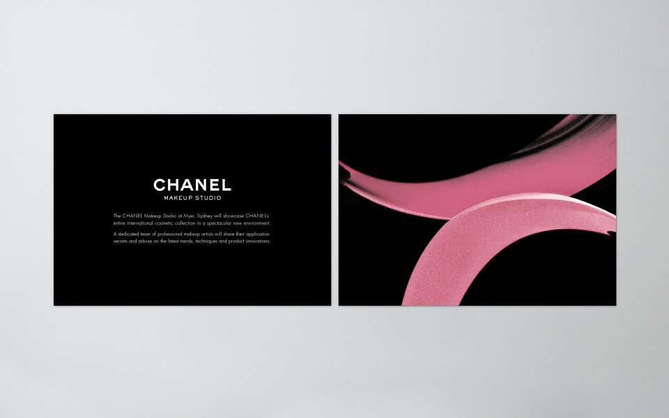 chanel  u2013 brand  u0026 marketing collateral design  u2014 layfield design